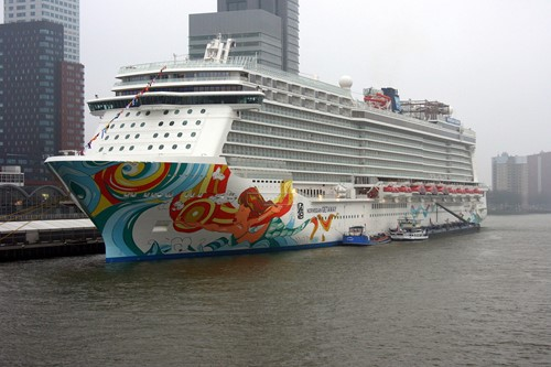 Norwegian Getaway Ship At Norwegian (NCL)