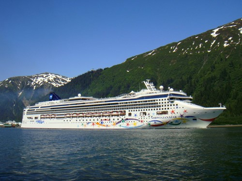 Norwegian Star Ship At Norwegian (NCL)