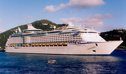 Explorer of the Seas Ship At Royal Caribbean