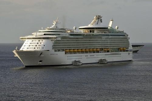 Mariner of the Seas Ship At Royal Caribbean