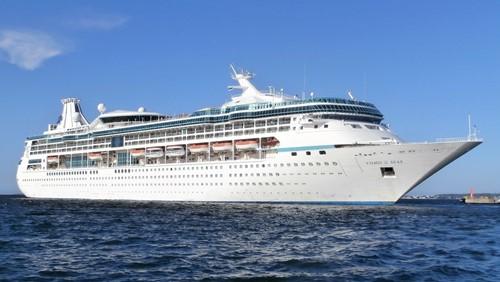 Vision of the Seas Ship At Royal Caribbean