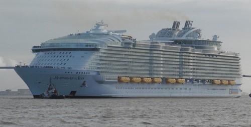 Symphony of the Seas Ship At Royal Caribbean
