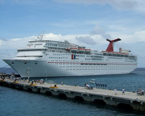 Carnival Inspiration Ship At Carnival Cruise Lines