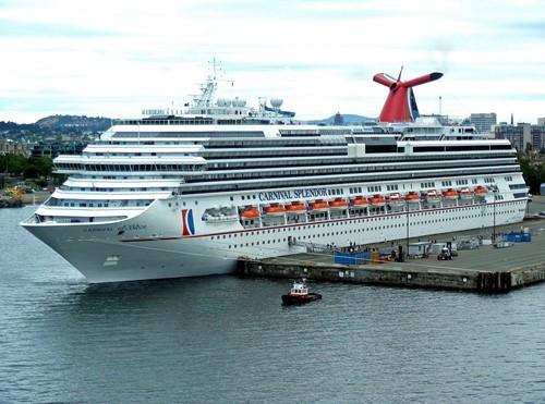 Carnival Splendor Ship At Carnival Cruise Lines