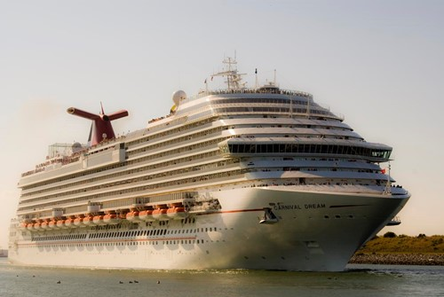 Carnival Dream Ship At Carnival Cruise Lines