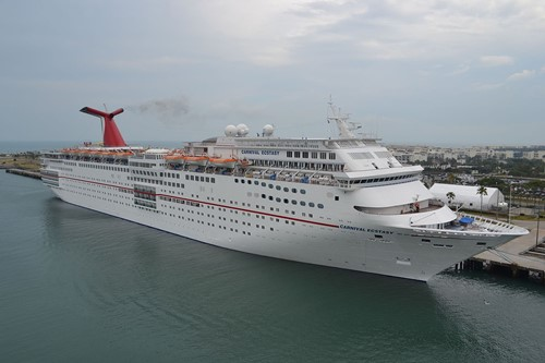 Carnival Ecstasy Ship At Carnival Cruise Lines