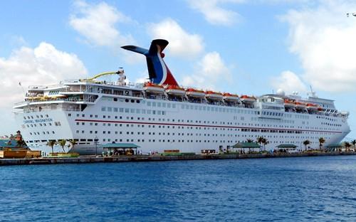 Carnival Imagination Ship At Carnival Cruise Lines