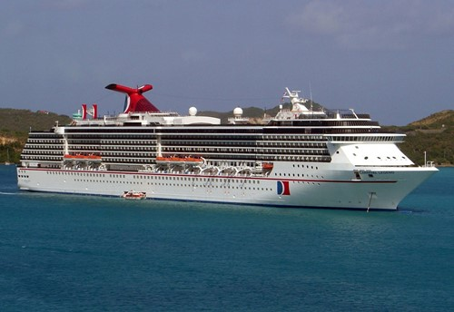 Carnival Legend Ship At Carnival Cruise Lines