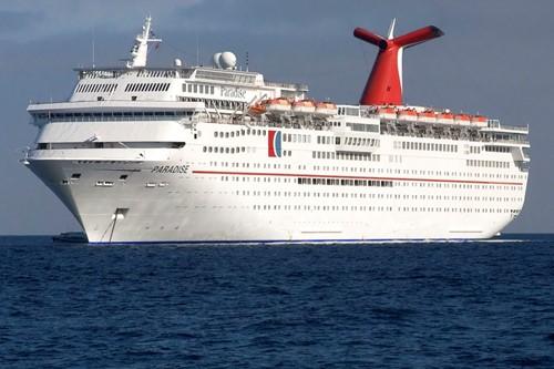 Carnival Paradise Ship At Carnival Cruise Lines