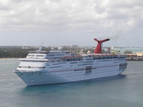 Carnival Sensation Ship At Carnival Cruise Lines