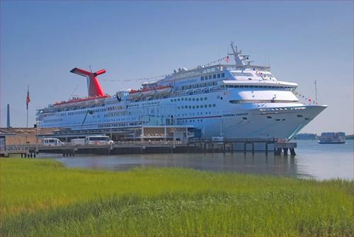 Carnival Fantasy Ship At Carnival Cruise Lines