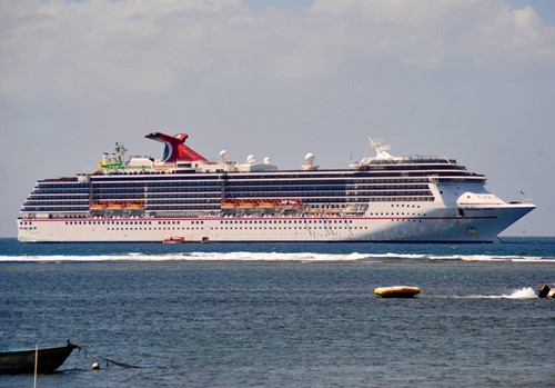 Carnival Spirit Ship At Carnival Cruise Lines