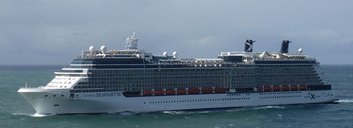 Celebrity Silhouette Ship At Celebrity Cruises