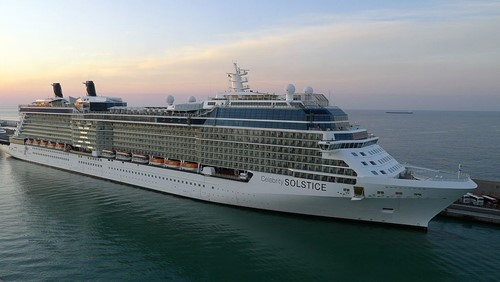 Celebrity Solstice Ship At Celebrity Cruises