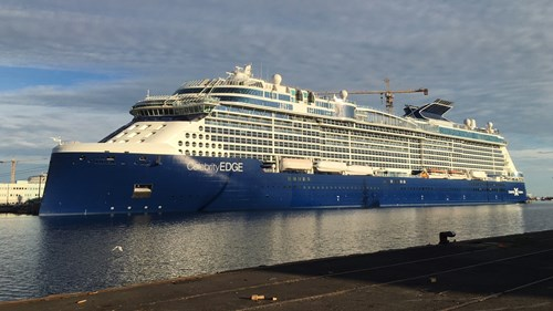 Celebrity Edge Ship At Celebrity Cruises