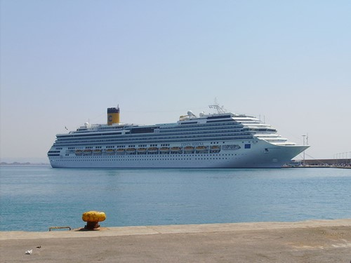 Costa Serena Ship At Costa Cruises