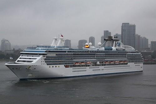 Coral Princess Ship At Princess Cruises