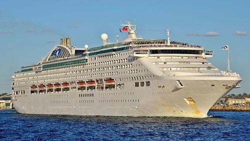 Sun Princess Ship At Princess Cruises