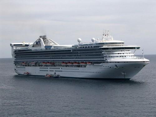 Golden Princess Ship At Princess Cruises
