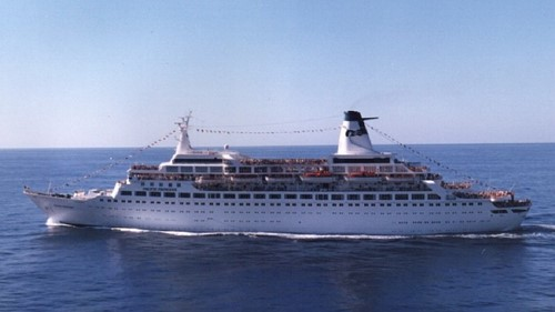 Pacific Princess Ship At Princess Cruises