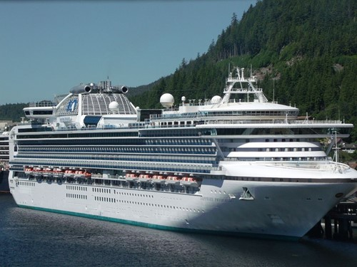 Sapphire Princess Ship At Princess Cruises