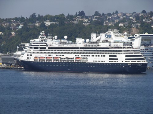 Amsterdam Ship At Holland America Line Cruises