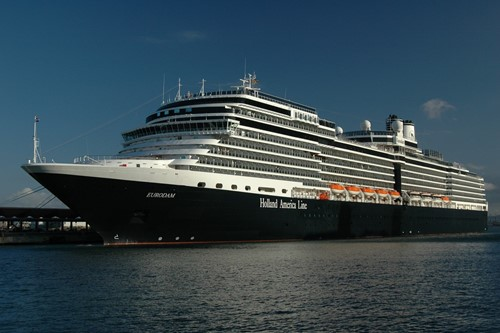 Eurodam Ship At Holland America Line Cruises