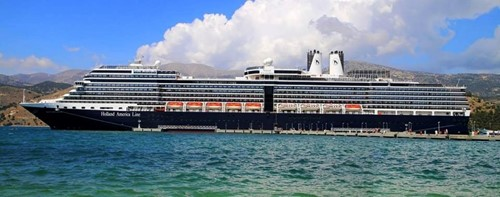 Nieuw Amsterdam Ship At Holland America Line Cruises