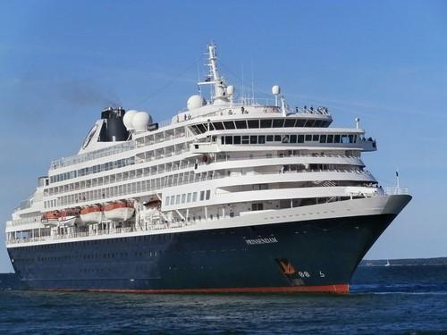 Prinsendam Ship At Holland America Line Cruises