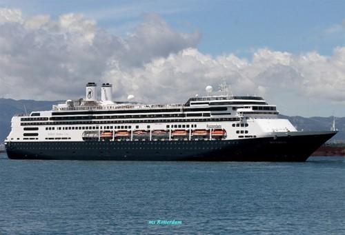 Rotterdam VI Ship At Holland America Line Cruises