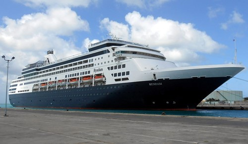 Ryndam Ship At Holland America Line Cruises