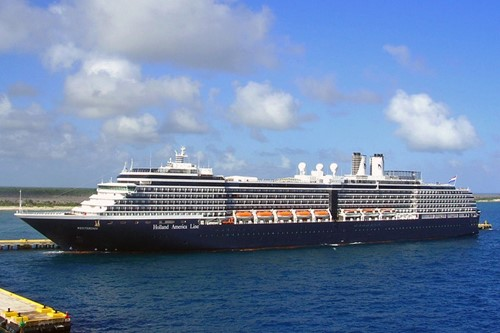 Westerdam Ship At Holland America Line Cruises