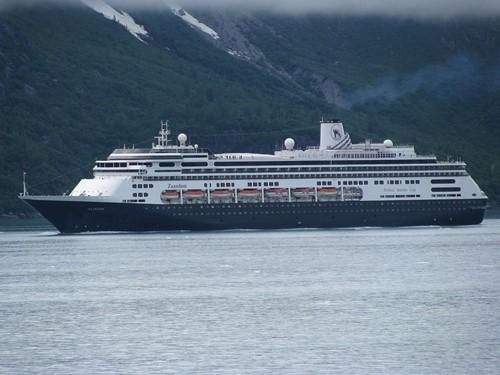 Zaandam Ship At Holland America Line Cruises