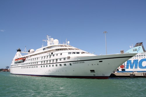 Seabourn Legend Ship At Seabourn Cruise Line