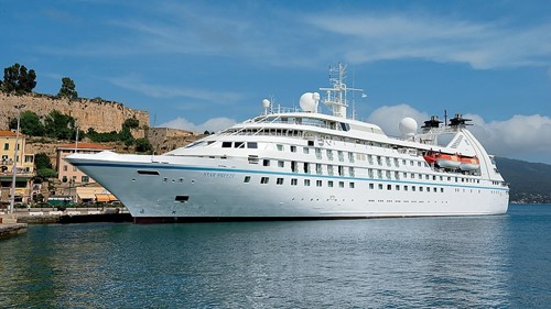 Seabourn Spirit Ship At Seabourn Cruise Line