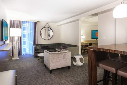 KING SUITE Room At The Linq Hotel and Casino Las Vegas