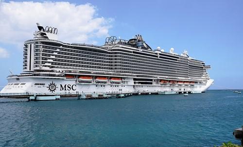 MSC Seaside Ship At MSC Cruises