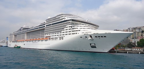 MSC Divina Ship At MSC Cruises