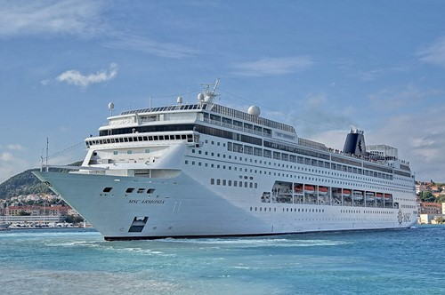 MSC Armonia Ship At MSC Cruises