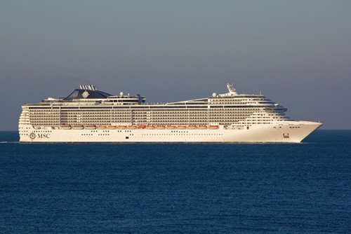 MSC Fantasia Ship At MSC Cruises