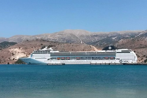 MSC Opera Ship At MSC Cruises