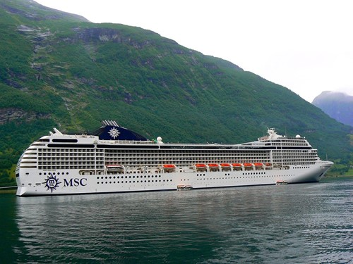 MSC Orchestra Ship At MSC Cruises