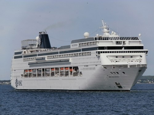 MSC Sinfonia Ship At MSC Cruises
