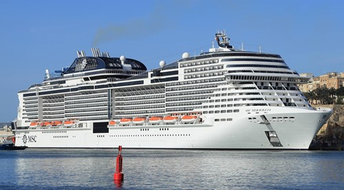 MSC Meraviglia Ship At MSC Cruises