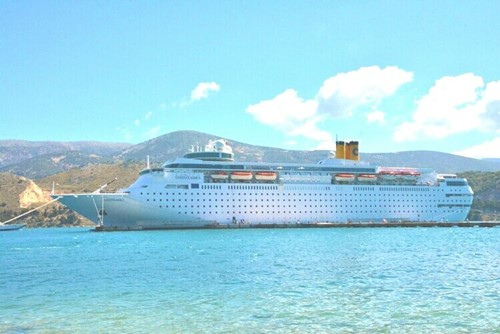 Grand Classica Ship At Bahamas Paradise Cruise Line