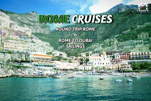 Rome Elite Cruises - Round-trip and Dubai Sailing!