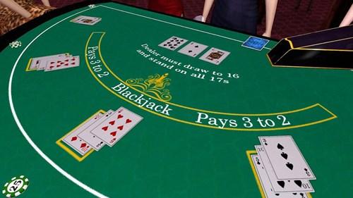Make blackjack dealer costume