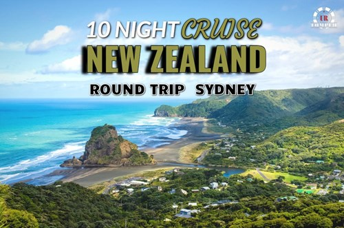 New Zealand Cruise Round-trip from Sydney!