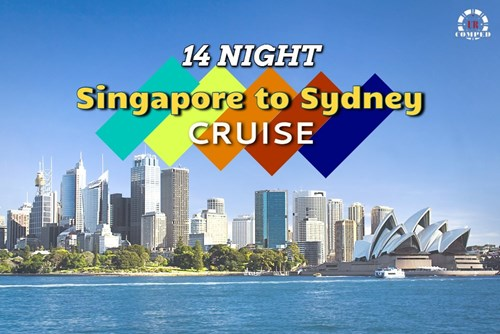 14 Night Singapore to Sydney, Austral Cruise!