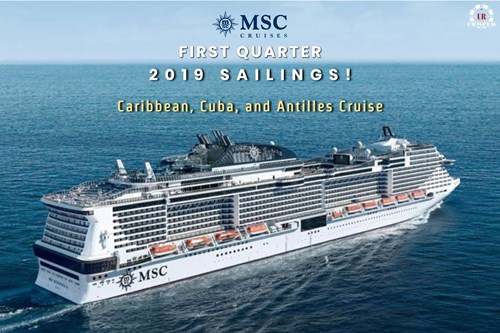 First Quarter 2019 - New Available Sailings!!!